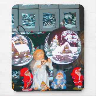 German Christmas, Heidleberg Christmas market, Mouse Pad