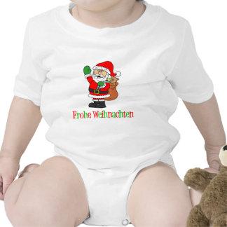 German Christmas Santa Creeper