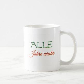 German Christmas Song Lied Jahre Singing Weihnacht Coffee Mug
