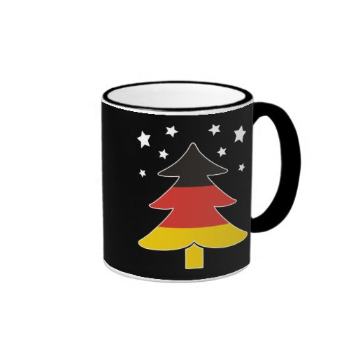 German Christmas Tree Coffee Mug