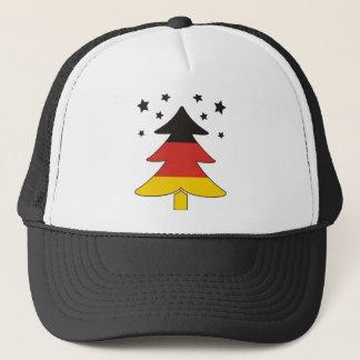 German Christmas Tree Trucker Hat