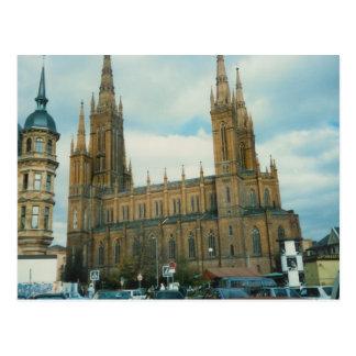 German Church Postcard