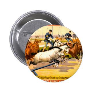 German Circus Advertisement Vintage 1900 Button