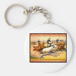 German Circus Advertisement Vintage 1900 Key Chains