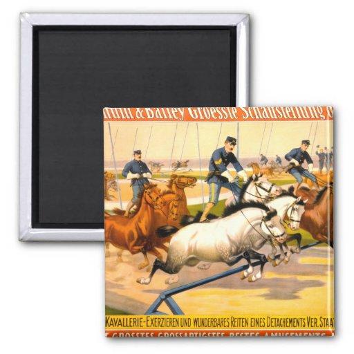 German Circus Advertisement Vintage 1900 Magnet