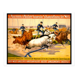 German Circus Advertisement Vintage 1900 Postcards