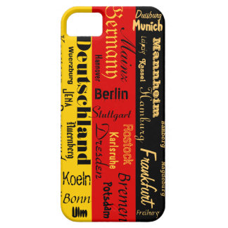 German Cities Case iPhone 5 Cover