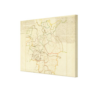 German Cities Stretched Canvas Prints