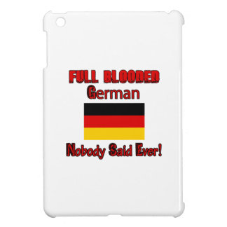 German citizen design iPad mini covers