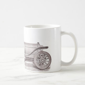 German Classic Car Mercedes Camille Jenatzy Classic White Coffee Mug