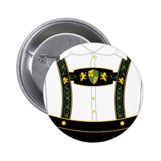 German clothes pinback button