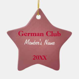 German Club, Foreign Language Club Ornaments