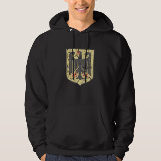 German Coat of Arms, distressed. Hoodie