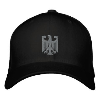 "German ""Coat of Arms"" Emboidered Cap"