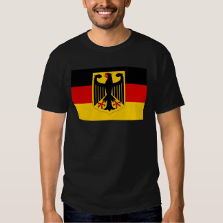 German coat of arms on flag shirt