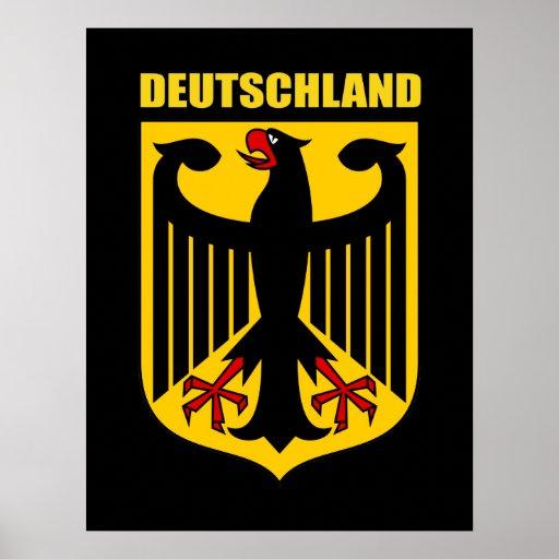 German Coat of Arms Posters