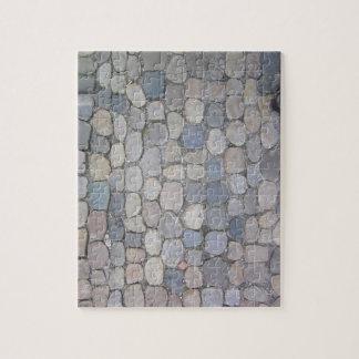 German cobble stone sidewalk jigsaw puzzle