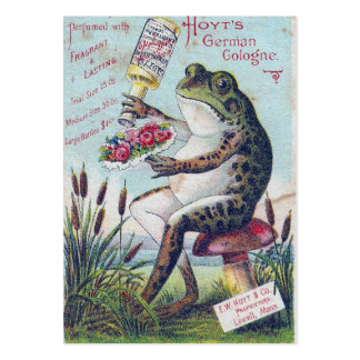 German Cologne Frog Large Business Card