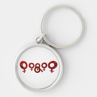 German Cuckold conclusion supporter Keychain