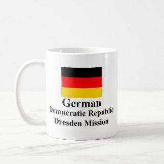 German Democratic Republic Dresden Mission Mug