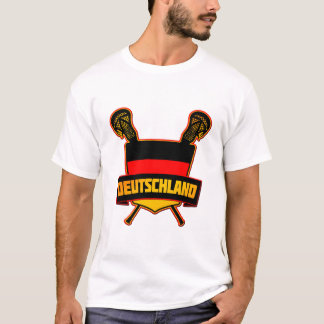 German Deutsch Lacrosse T-Shirt