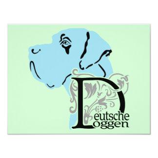 German: Dogge Card