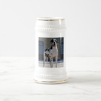 German Dogge, great dane, Hunde, Dogue Allemand 18 Oz Beer Stein