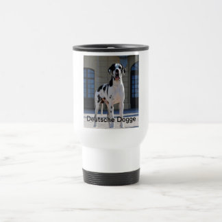 German Dogge, great dane, Hunde, Dogue Allemand 15 Oz Stainless Steel Travel Mug