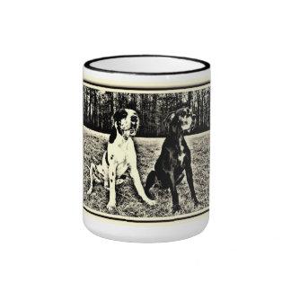 German Dogge, great dane, Hunde, Harlekin, gefleck Mugs