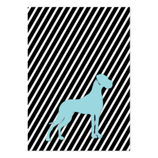 German Doggen visiting cards Large Business Cards (Pack Of 100)