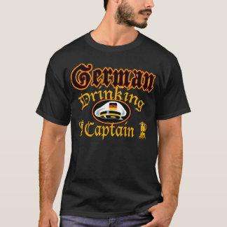 German Drinking Cptn T-Shirt