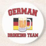 German Drinking Team coasters