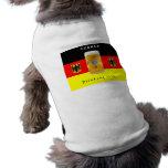 German Drinking team Doggie Tshirt