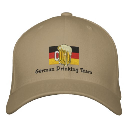 German Drinking Team Embroidered Cap