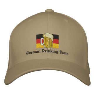 German Drinking Team Embroidered Cap Embroidered Baseball Cap