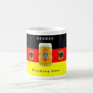 German Drinking team, flag, symbol Coffee Mug