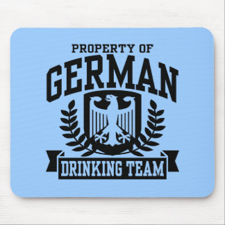 German Drinking Team Mouse Pad