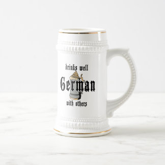 German Drinks Well With Others Oktoberfest Beer Stein