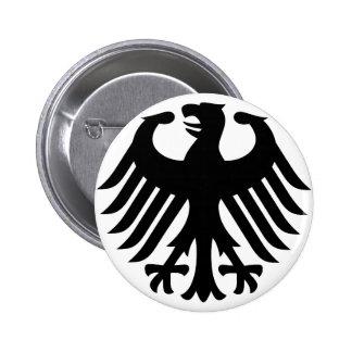 German Eagle 2 Inch Round Button