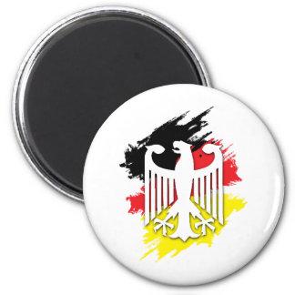 German Eagle 2 Inch Round Magnet