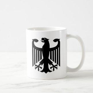 German Eagle Classic White Coffee Mug