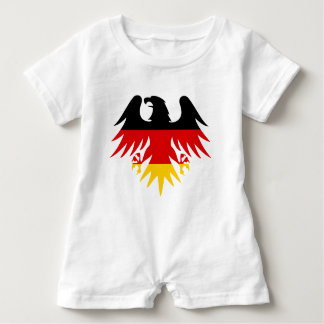 German Eagle Crest Baby Romper