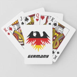 German Eagle Crest Poker Deck