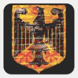 German Eagle Crest Stickers