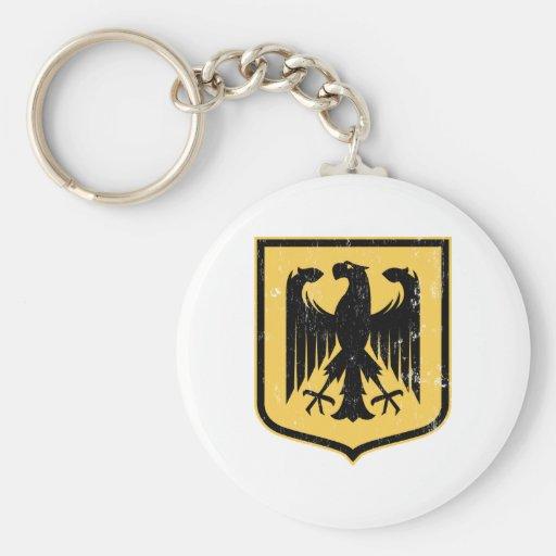 German Eagle - Deutschland coat of arms Keychains