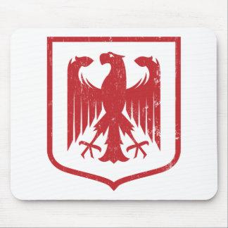 German Eagle - Deutschland coat of arms Mousepads