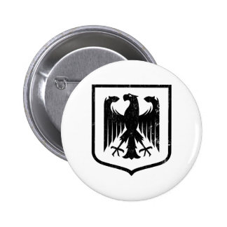 German Eagle - Deutschland coat of arms Pinback Button