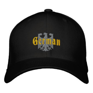 German Eagle Embroidered Cap