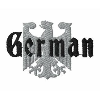 German Eagle Embroidered Polo Shirt