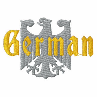 German Eagle Embroidered Sweatshirt